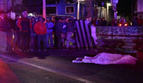 Un muerto y un herido por atropellamiento en Tetla