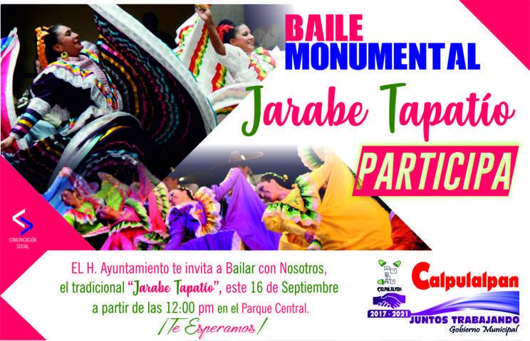 Calpulalpan está listo para celebrar el Grito de Independencia