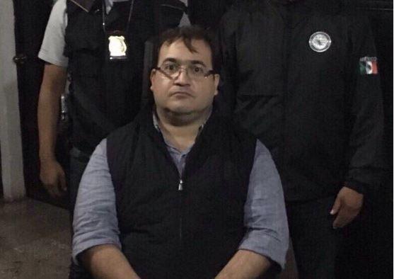Detienen a Javier Duarte, exgobernador de Veracruz
