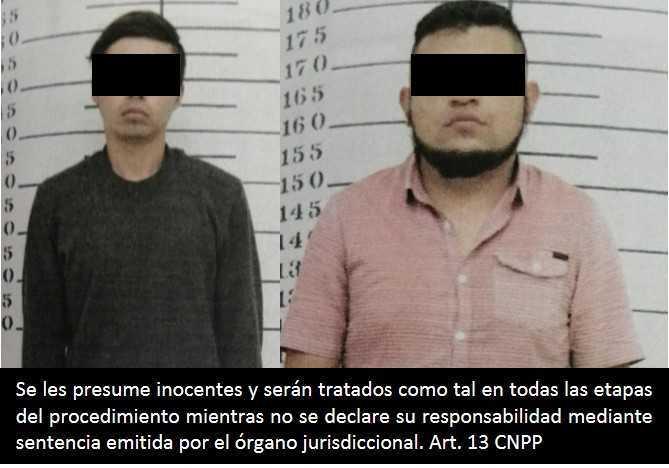 Obtiene FGR prisión preventiva contra dos personas por robo de transporte y secuestro