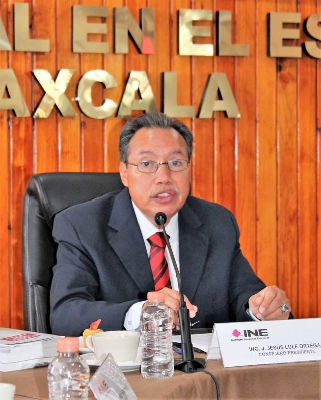Concluye INE Tlaxcala actividades del PEF 2017-2018