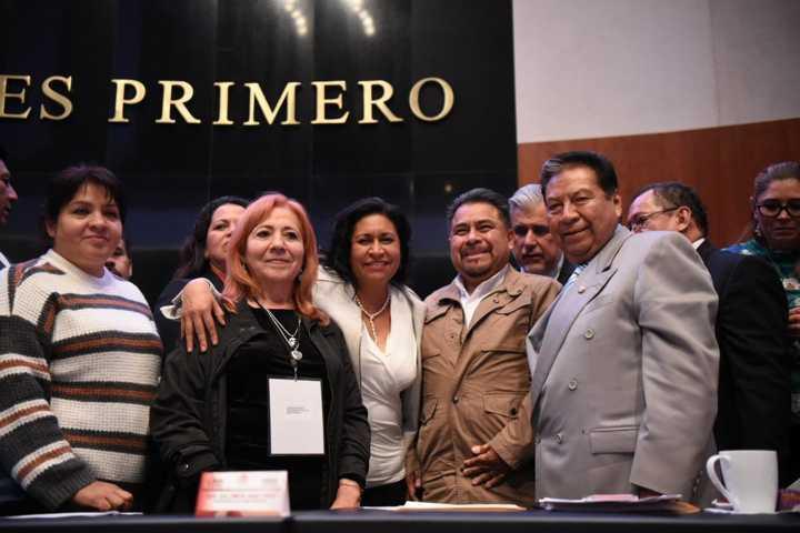 Apoya bancada de Morena nombramiento de la titular de la CNDH: Molina