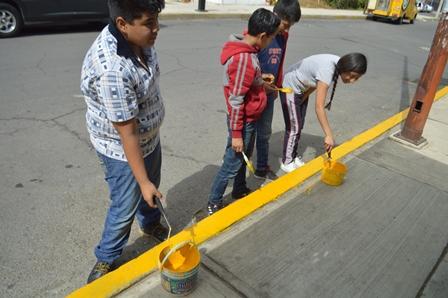 Promueven entre niños de la capital el rescate de espacios públicos