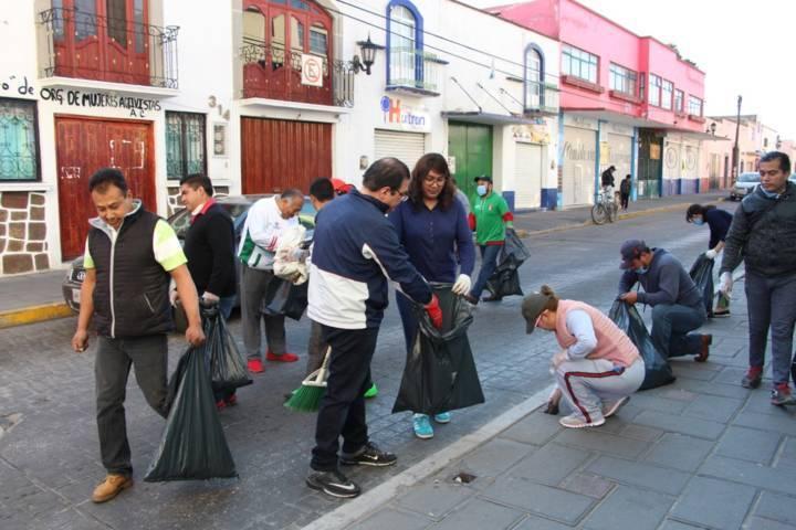 Limpiemos nuestro México llego a Huamantla con una mega jornada