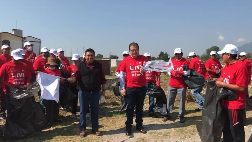 En Huamantla se crea conciencia sobre el cuidado del medio ambiente