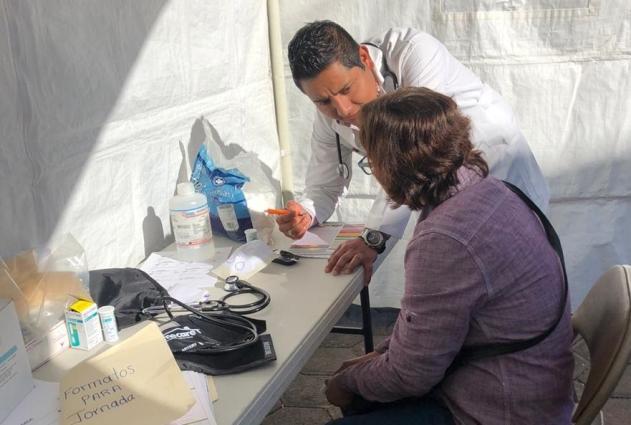 Benefició a 120 familias Jornada Médica en Loma Bonita