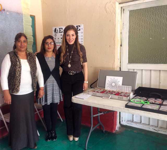 Acerca regidora Jornada de Salud Visual a comunidades de la capital