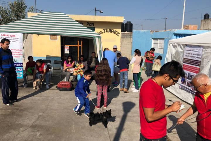 Efectúa comuna capitalina servicio integral de salud en la Loma Xicohténcatl
