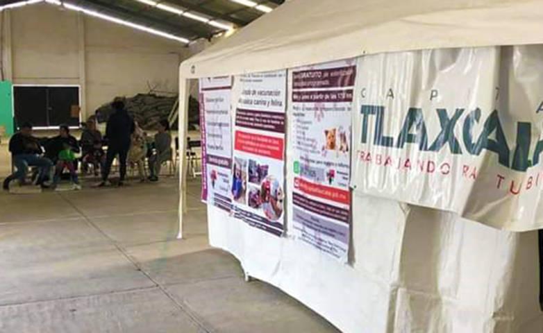 Se brindan más de 200 servicios en Jornada Médica de Atempan