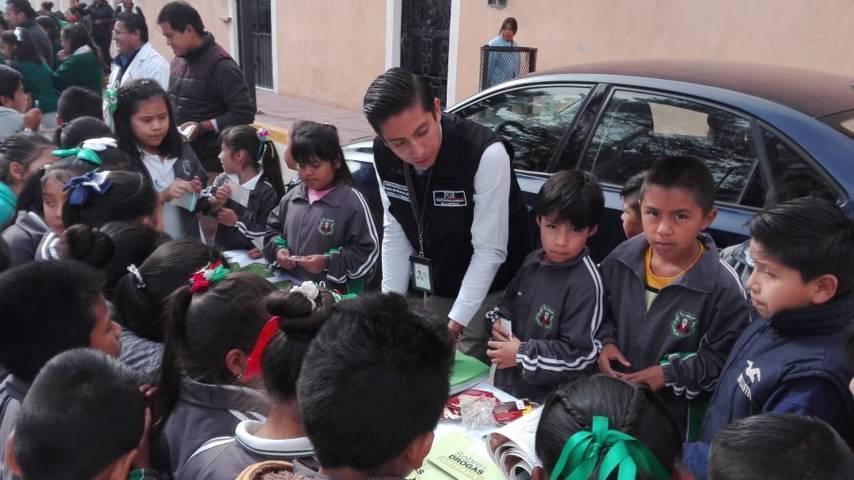 PGR participa en Jornada De Prevención Difundiendo El Programa ¿Has Visto A?...