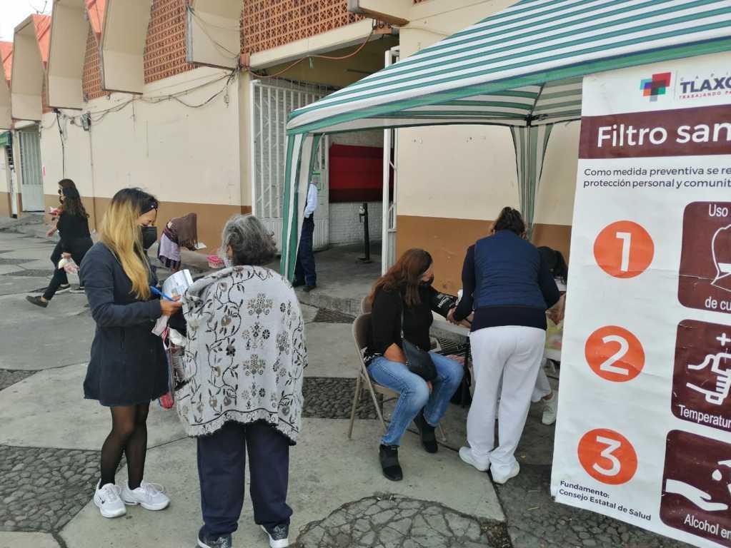 Inició jornada de salud en la explanada del mercado Emilio Sánchez Piedras