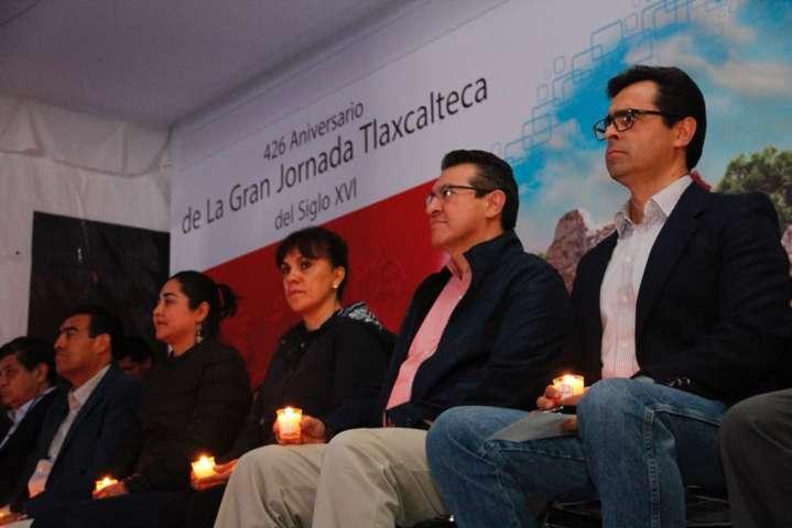 Encabeza Marco Mena 426 Aniversario de la Gran Jornada Tlaxcalteca