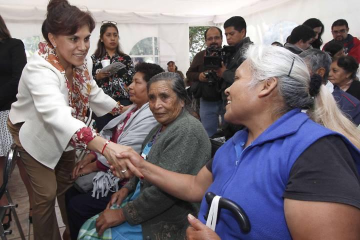 Trabajamos en beneficio de los tlaxcaltecas: Sandra Chávez