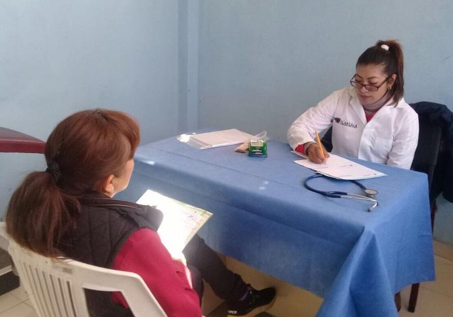 Reinicia ayuntamiento de Tlaxcala Jornadas Médicas en Tlapancalco