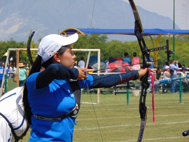 Tlaxcala participa por equipos mixtos en el tiro con arco de ON