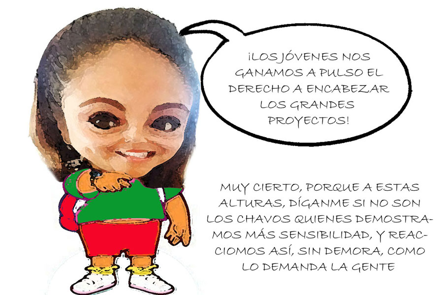 Los jóvenes reclaman sus legítimos derechos en Tlaxcala