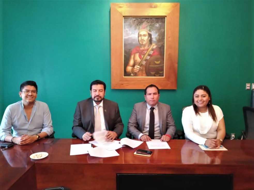 Dicta Congreso De Tlaxcala auto de radicación de juicio político contra alcalde de Huamantla
