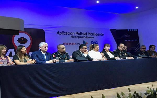 Apizaco presenta aplicación de vanguardia en materia de seguridad