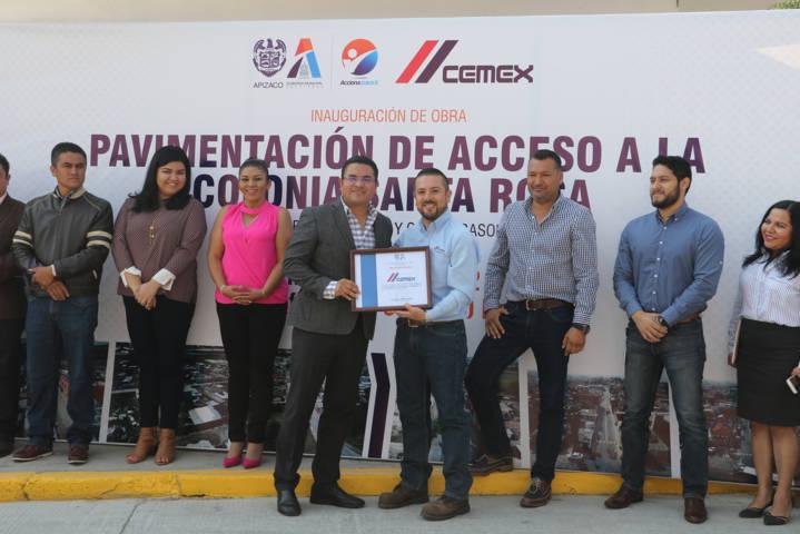 Más de 5 mil 400 beneficiarios con nueva obra de pavimentación en Apizaco