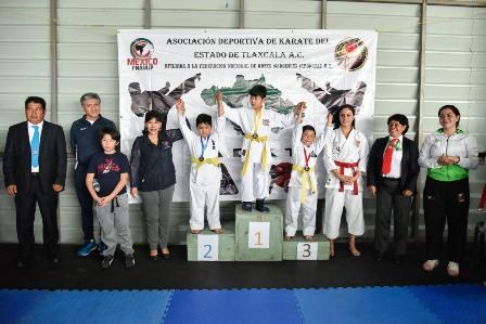Polideportivo sede de Torneo Estatal de Karate ADKT 2019