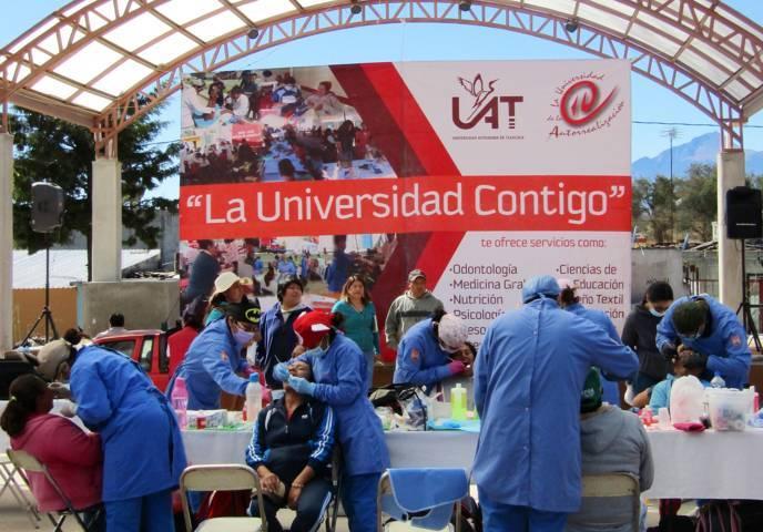 """Cierra UAT acciones del programa: """"La Universidad Contigo"""""""