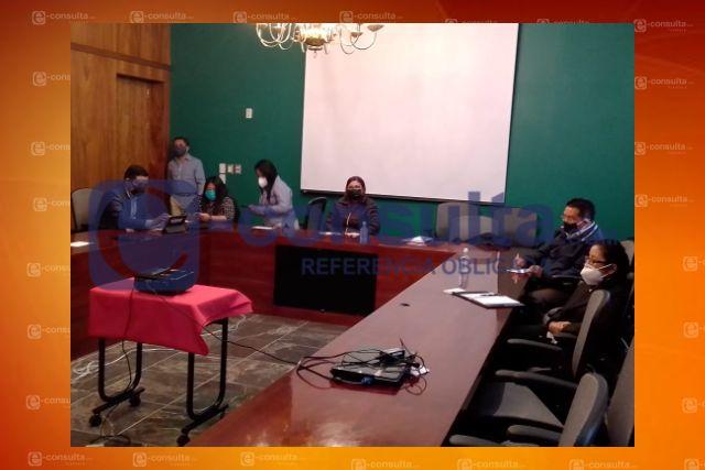 Sesionan auditora y los integrantes de la Comisión de Finanzas y Fiscalización
