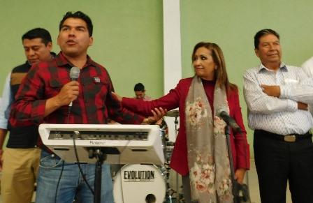 Lorena agradece apoyo de los ciudadanos de la capital del estado