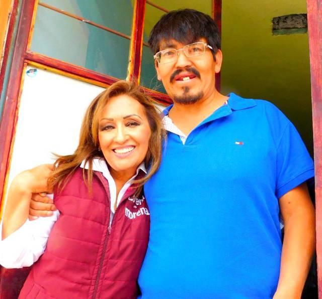 El sur del estado esta con Lorena: Pobladores de Xicohtzinco