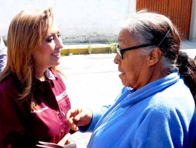 Pensión universal para adultos mayores propone Lorena