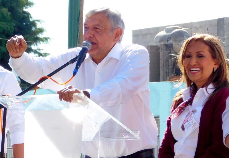 Un mes para la transformación del país, vamos a ganar: Lorena