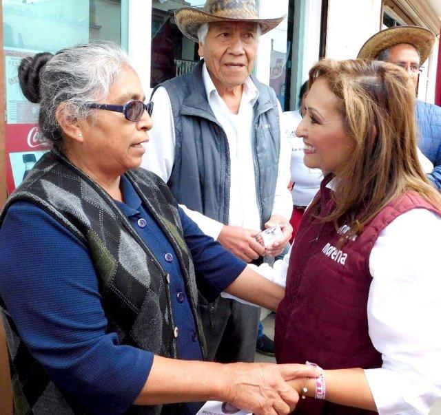 Inminente triunfo de Lorena Cuéllar en el tercer distrito