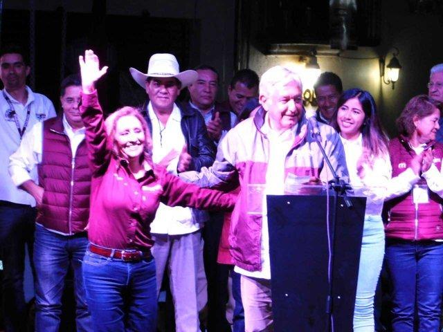 Visita de AMLO es síntoma de su amor por Tlaxcala: Lorena
