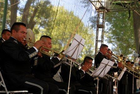 """Exitoso concierto de la banda de música """"La Boticaria Veracruz"""" en la capital"""