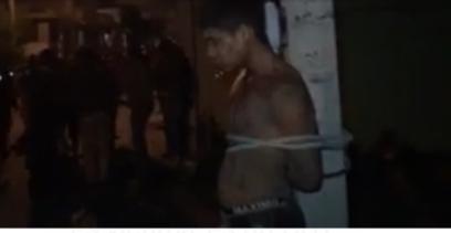 Se registra intento de linchamiento en la capital del estado