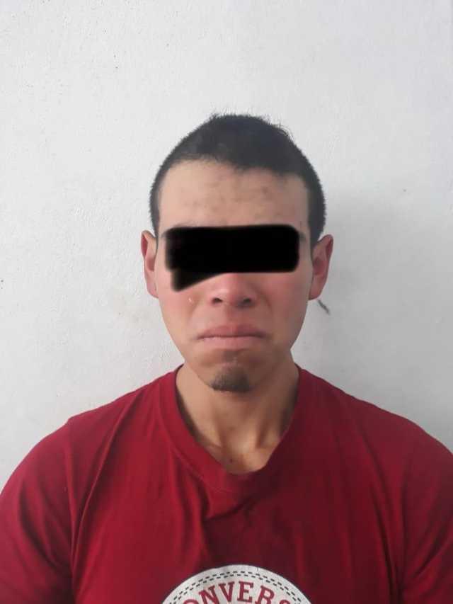 Presunto ladrón de casa-habitación es detenido por policía municipal