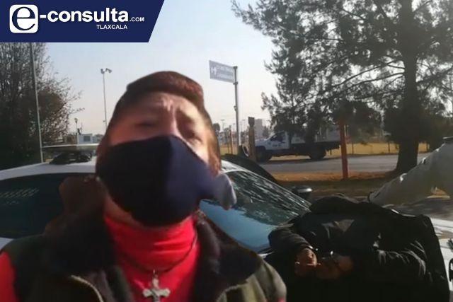 Detienen a dos hampones tras asaltar a mujer en Ixtulco