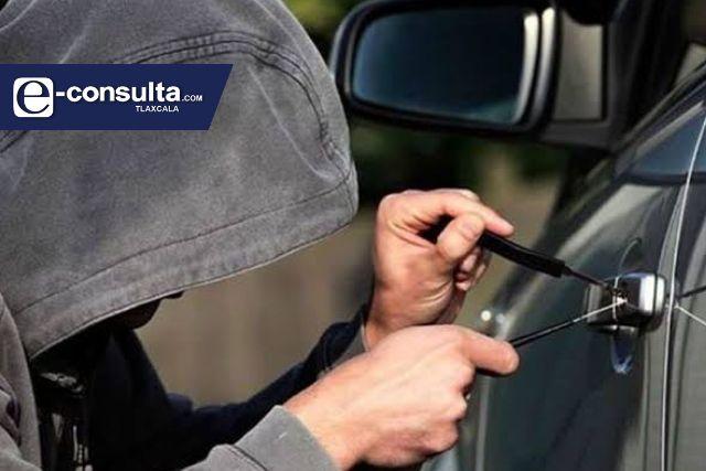 Solo se roban cuatro carros al día en Tlaxcala