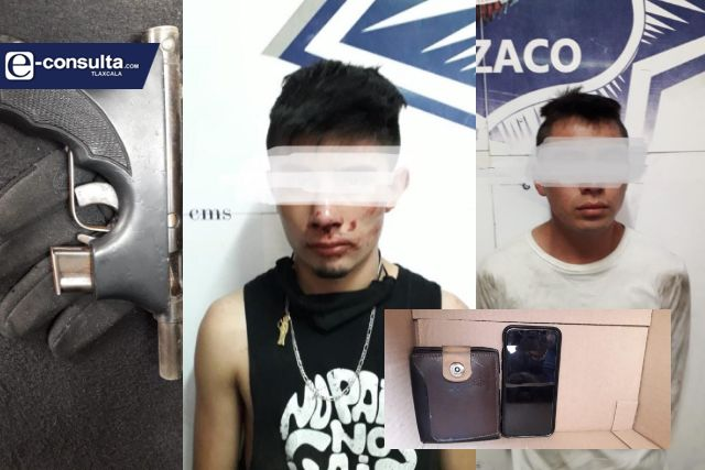 Frustra asalto Policía de Apizaco
