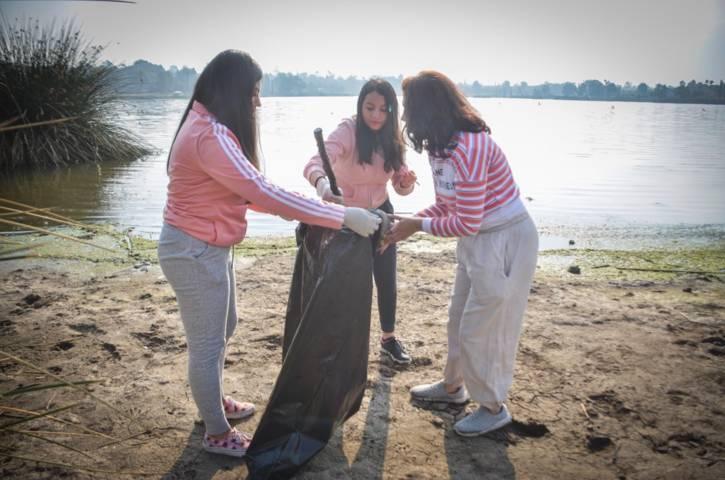 Inician trabajos de rescate en laguna de Acuitlapilco