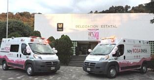 Pone IMSS Tlaxcala en circulación dos ambulancias