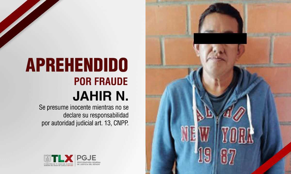 Detienen a peligroso defraudador de Tlaxcala
