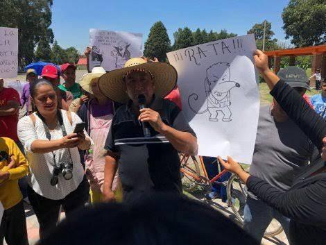 Acusan a Laurencio Coronel por supuestas influencias por ejido en Zacatelco