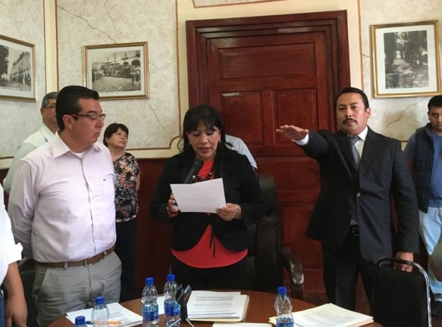Alcaldesa capitalina designa a Lauro Sánchez como Juez Municipal