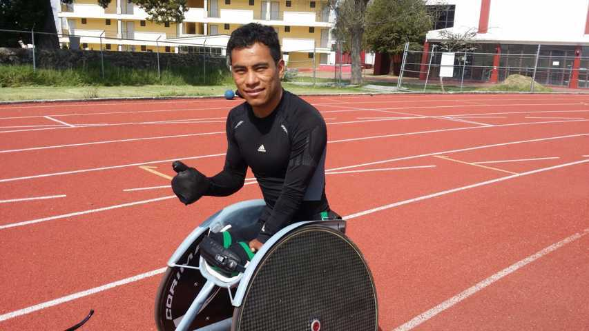 Se prepara Leonardo de Jesús Pérez Juárez para el Campeonato Mundial de Paratletismo