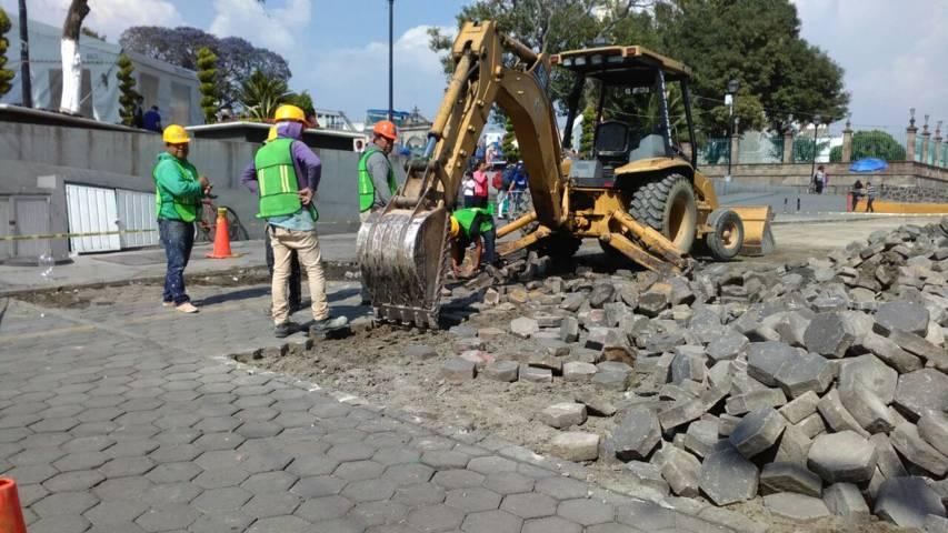 Ayuntamiento mejora la infraestructura básica en la Lerdo de Tejada