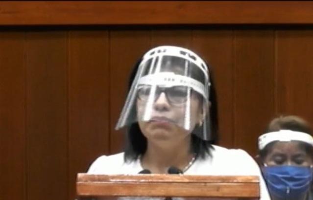 Diputada Leticia Hernández reta a su líder porque se siente inamovible