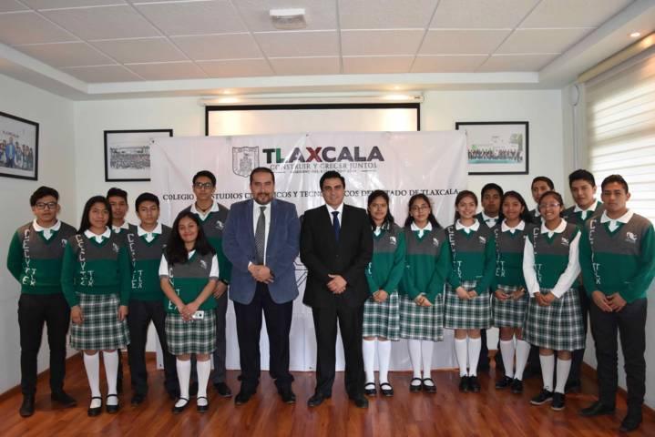 Firma Cecyte Tlaxcala convenio con Instituto Tecnológico Superior De Libres