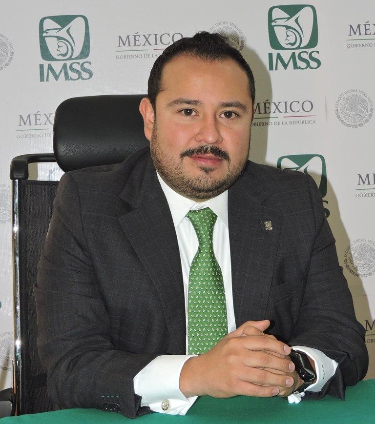 Gigran Alejandro de la Torre nuevo delegado del IMSS en Tlaxcala