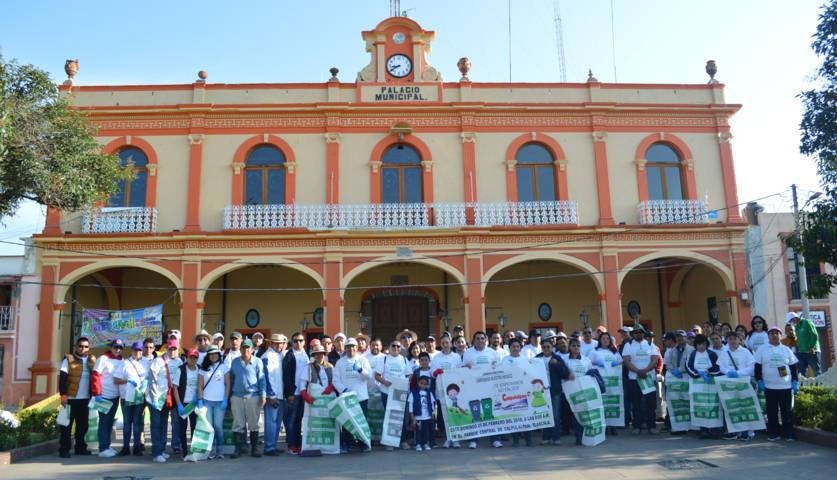 Campaña nacional Limpiemos Nuestro México llego a Calpulalpan