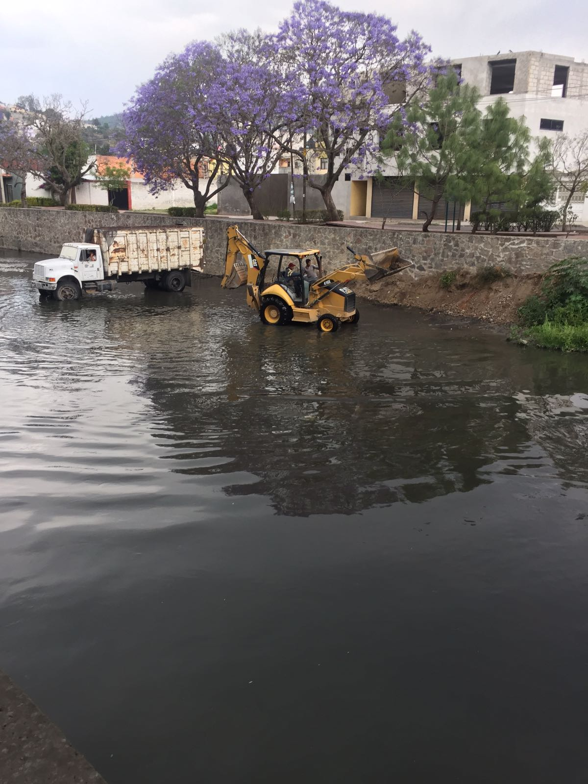 Concluye segunda etapa de limpieza del Río Zahuapan